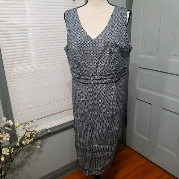 Lane Bryant Princess Waist Sheath Dress